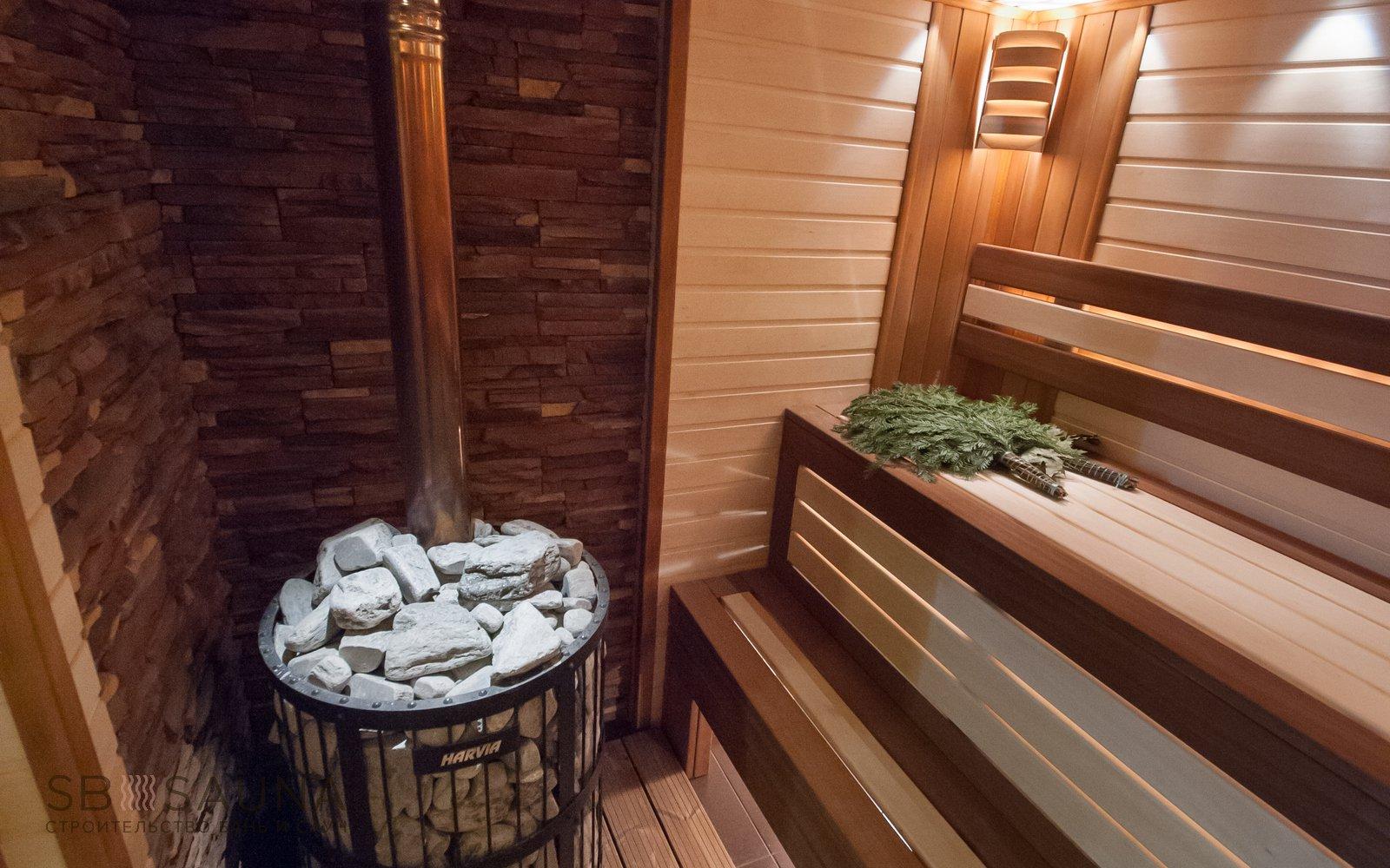 отделка бани сауны под ключ